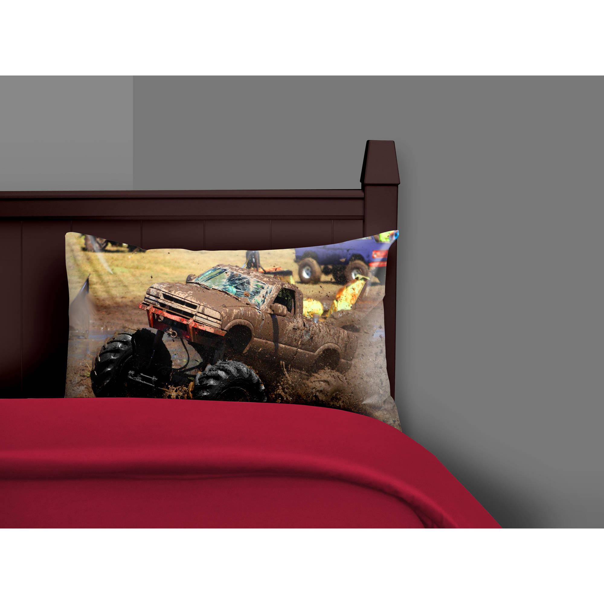 Your Zone Monster Truck Photo Pillow