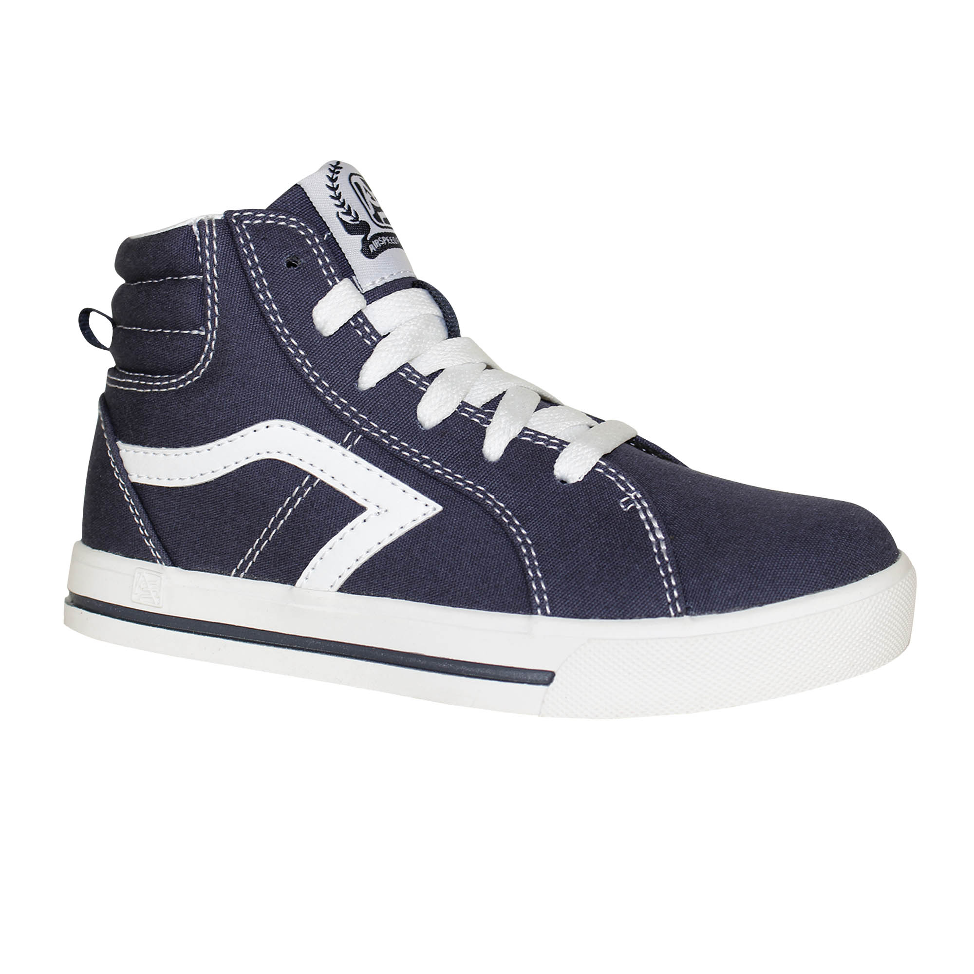 Image of Air Speed Boys' Canvas Mid-Top Sneaker