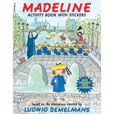 Madeline: Activity Book with - Madeline Halloween Book
