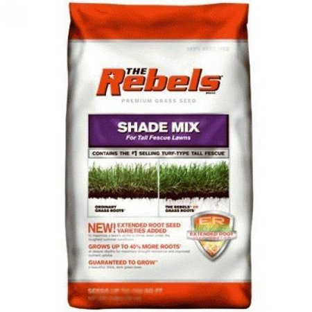 The Rebels Grass Seed, Tall Fescue Shade Mix,