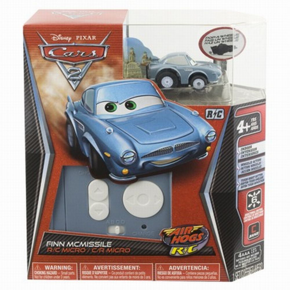 Disney Cars Finn McMissile Air Hogs R C Micro Car RC Wheelie Action by