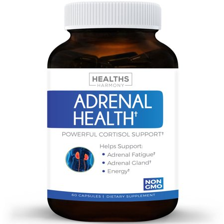 Best Adrenal Support   Comprehensive Adrenal Health With L Tyrosine   More   Helps Maintain Balanced Cortisol Levels   Helps Stress Relief   Fatigue Manger Supplement   60 Capsules