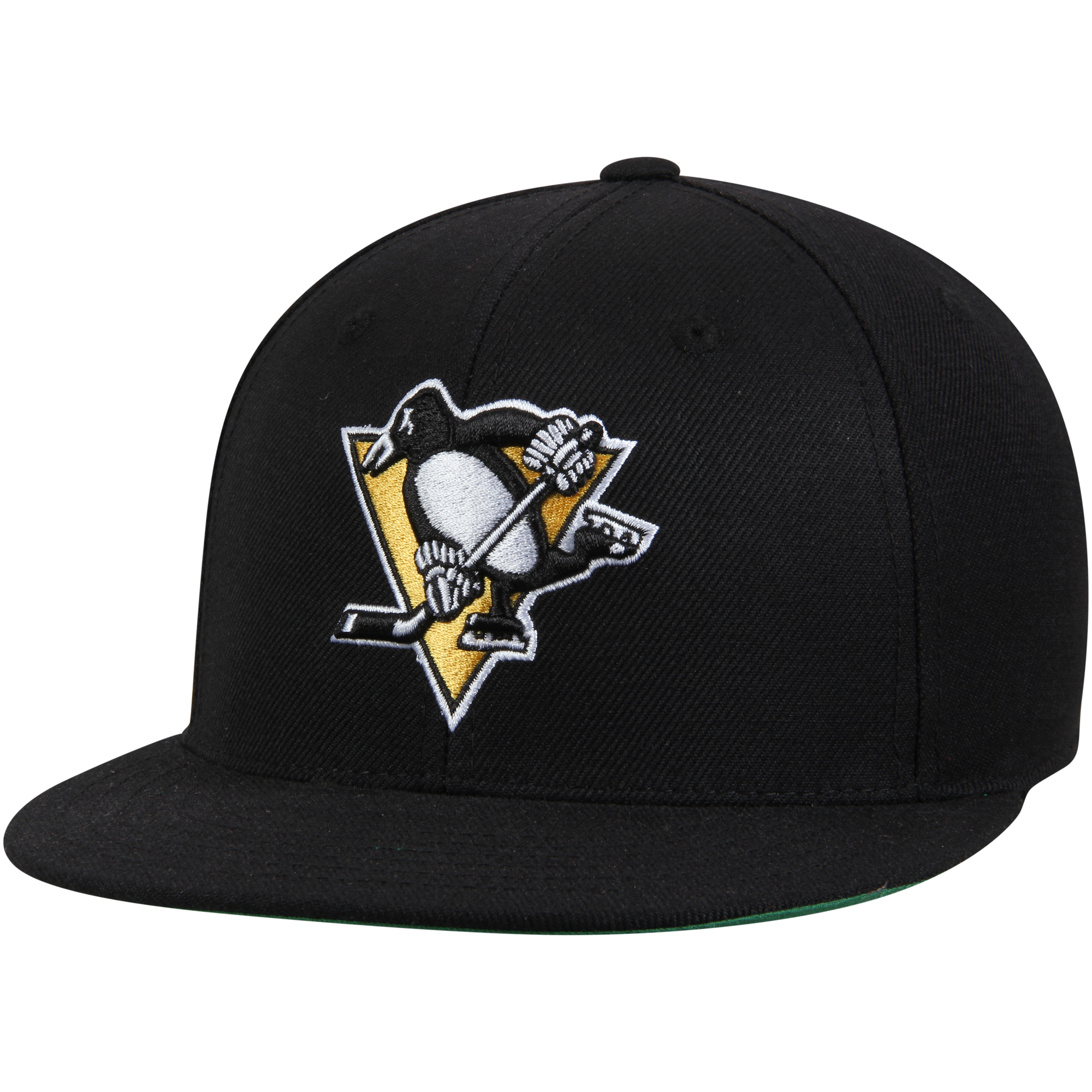 Pittsburgh Penguins American Needle Deep Dish Fitted Hat - Black