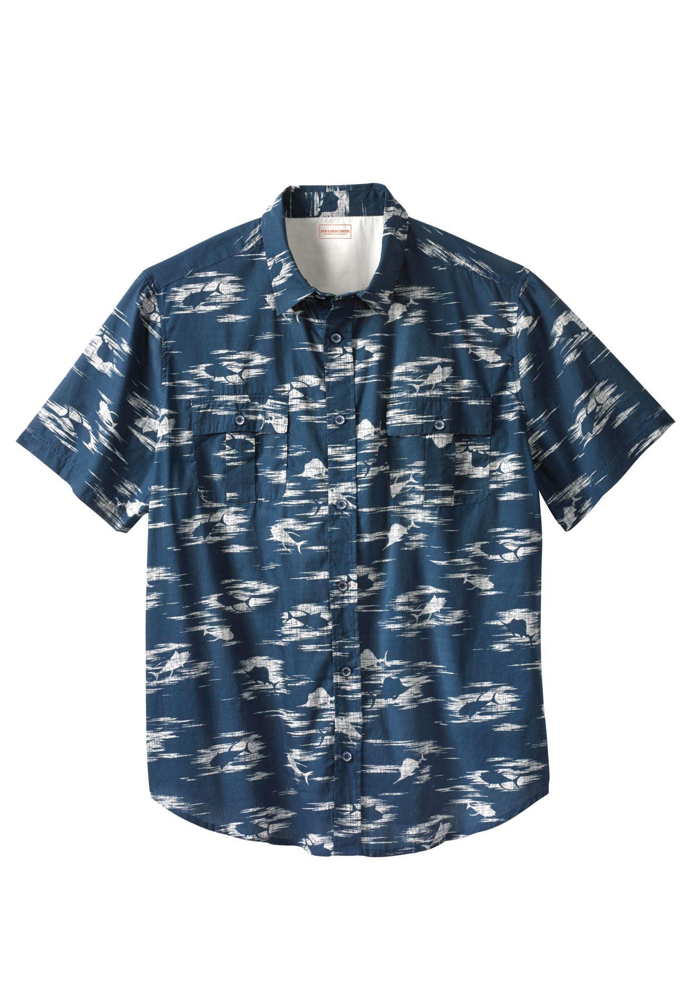 Boulder Creek Men's Big & Tall Lakeside Shirt