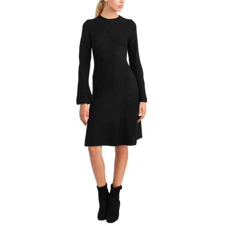 Womens Fairy Dress (Women's Bell Sleeve Fluted Sweater)