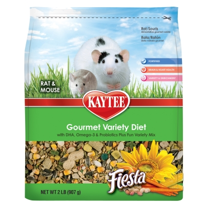 CENTRAL - KAYTEE PRODUCTS, INC FIESTA RAT/MOUSE 2 LB