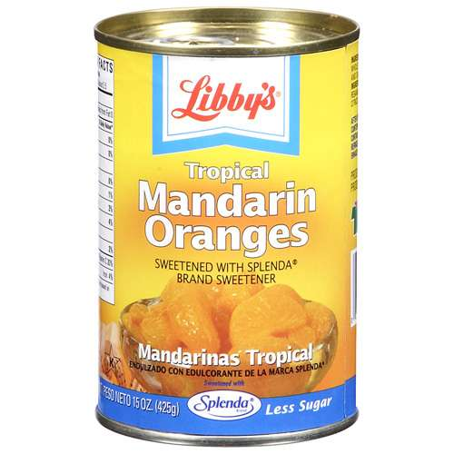 Libby's Skinny Fruits Mandarin Oranges, 15 oz