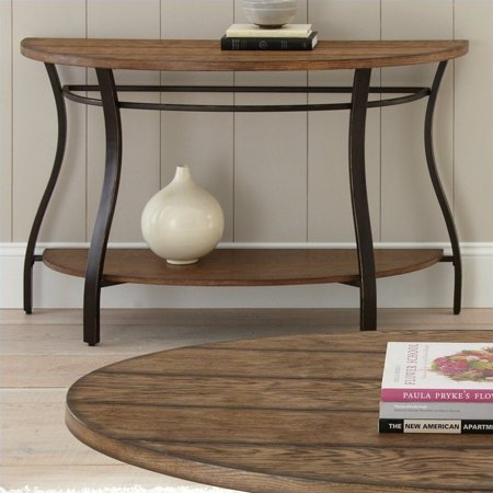 Steve Silver Company Denise Sofa Table in Light Oak Finish - image 1 de 2