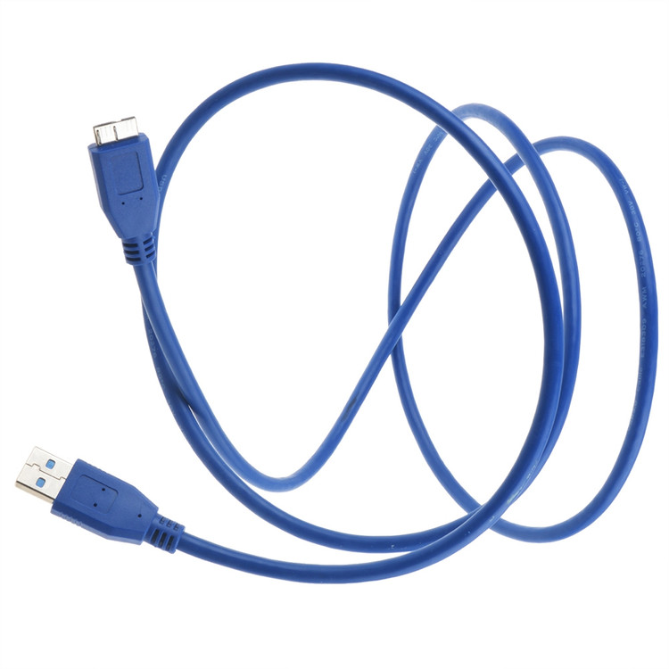 PKPOWER 6.6FT Cable USB 3.0 Cable PC Data Cord Replacement For Rosewill RX-DU300 2.5 & 3.5 HDD Hard Drive Docking Station USB 3.0 Cable 1-Pack