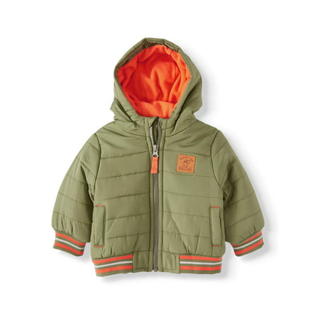 Child of Mine by Carter's Baby Toddler Boy Varsity Bubble Jacket Winter Coat