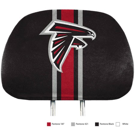Atlanta Falcons Two-Pack Printed Headrest Cover