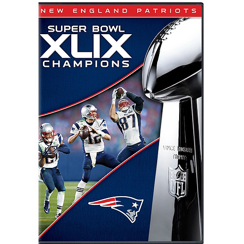 New England Patriots: Super Bowl XLIX Champions (DVD) by Gaiam Americas