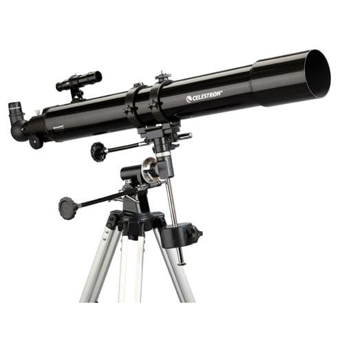 Celestron 21048 PowerSeeker 80EQ Telescope w/ 5x24 Finderscope