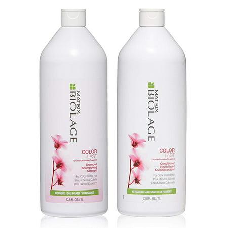 Biolage ColorLast Shampoo and Conditioner Duo Set, 33.8