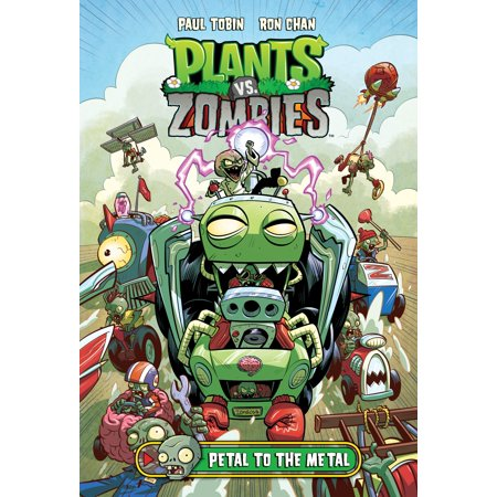 Plants vs. Zombies Volume 5: Petal to the Metal](Plants Vs Zombies 2 Halloween 2017)