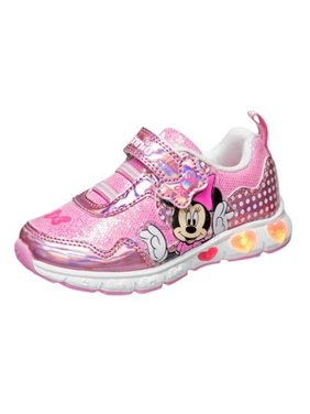 The Minnie Mouse Pink Girls Sneakers