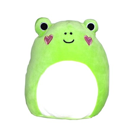 Green Giraffe Frog (Kellytoy Squishmallows Valentine's Day Themed Pillow Plush Toy (Frog, 9 inches) )