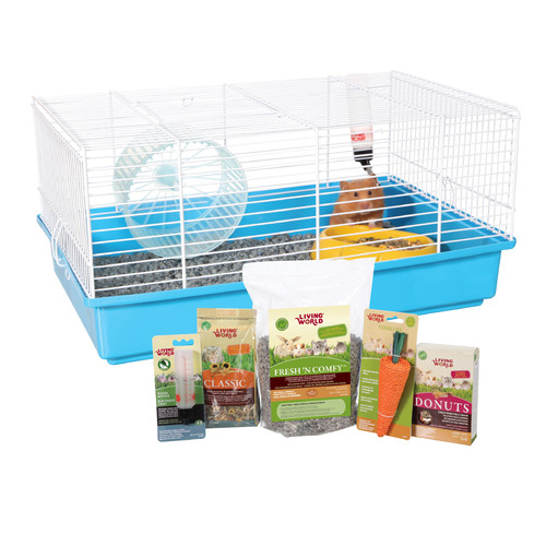 Hagen Living World Hamster Starter Kit by Hagen