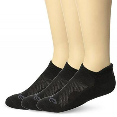 ASICS Cushion Low Cut Sock (Pack of 3), Large, (Cushion Low Sock)