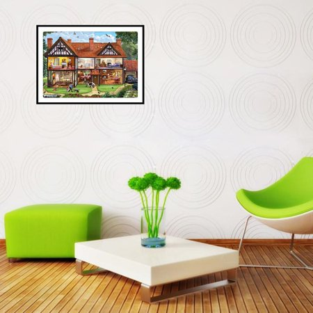 Cottage Pattern 5D Diamond Painting Embroidery Cross Stitch Art Pictures - image 6 of 7