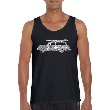 d541d8f867fc9c Los Angeles Pop Art - Men s tank top - woody - classic surf songs -  Walmart.com