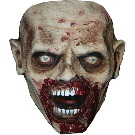 Walking Dead Biter Walker Latex Mask Adult Halloween Accessory - Halloween Latex Applications