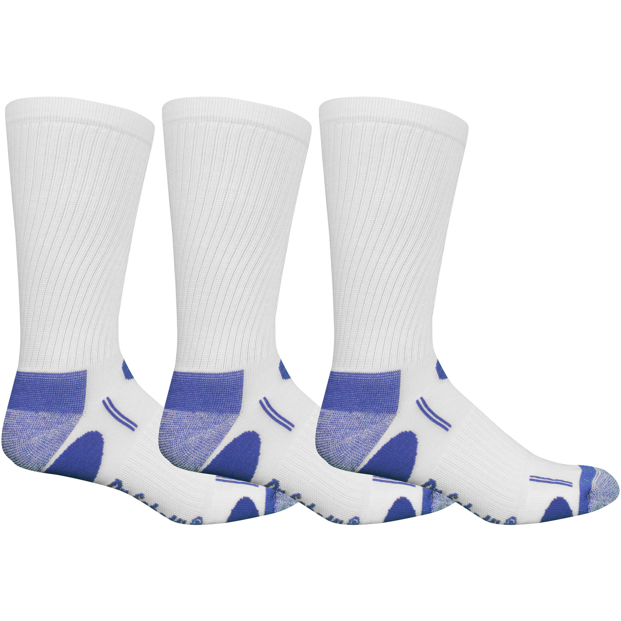Dr. Scholl's Men's Tri-Zone Comfort Crew Socks - 3 Pack