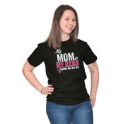 Breast Cancer Awareness Ladies TShirts Tees T For Women My Mom Is My Hero Together We Will Win Gift