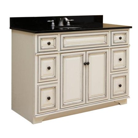 Sunny wood sl4821d vanity cabinet sanibel fixture wood for Sanibel white kitchen cabinets