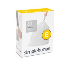 Trash Bags: Simplehuman code E