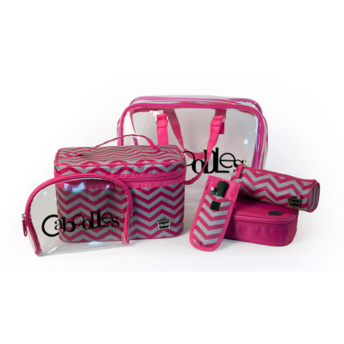 Caboodles Le Sophistique Cosmetic Bag Set, 10 pc