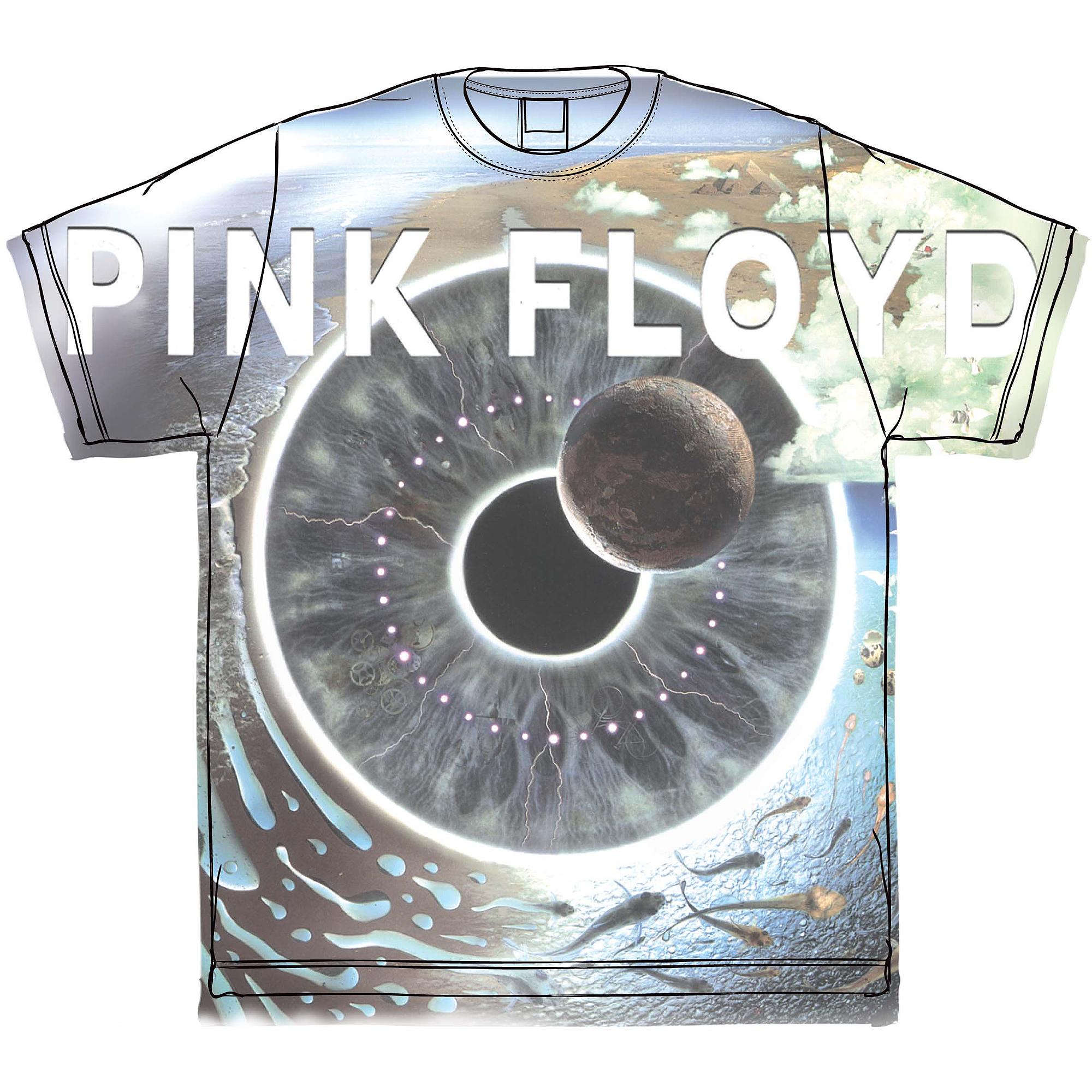 License Big Mens Pink Floyd Sub Graphic Tee