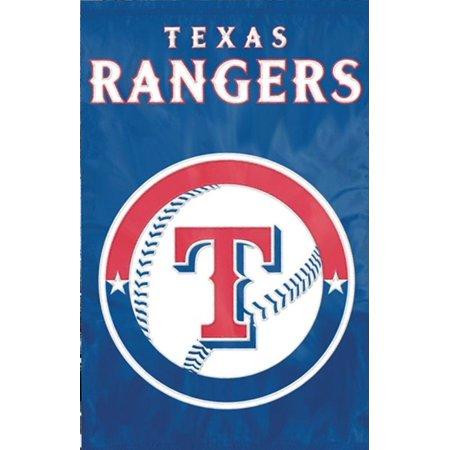 MLB Applique Banner 44 X 28 Texas Rangers