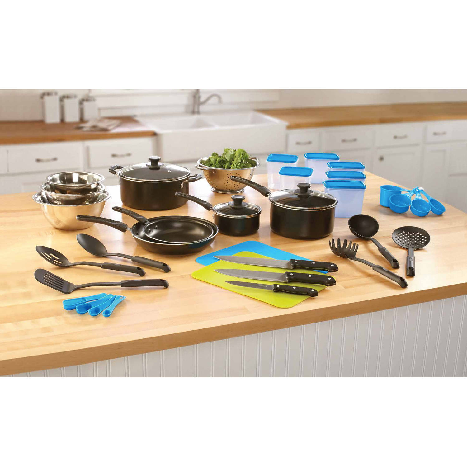 Mainstays 40-Piece Aluminum Essential Kitchen Set