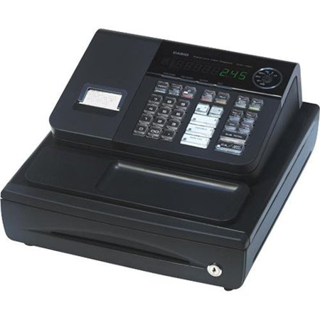 Casio Pcrt 280 Cash Register 1200 Plus   8 Clerks   20 Departments   Thermal Printing  Pcrt280