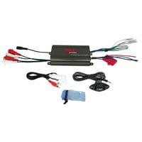 Pyle PLMRMP3B - 4 Channel 800 Watt Waterproof Micro Marine Amplifier