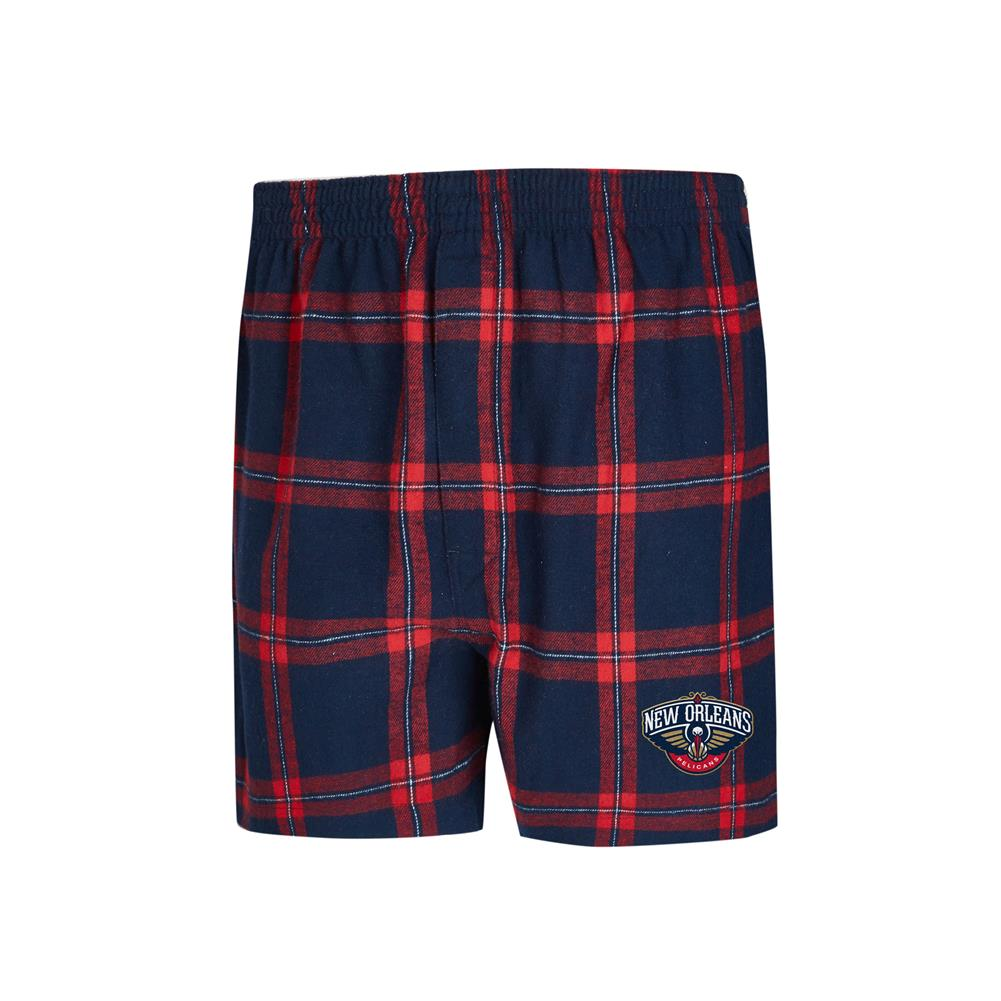 New Orleans Pelicans Men's Boxers Flannel Boxer Shorts