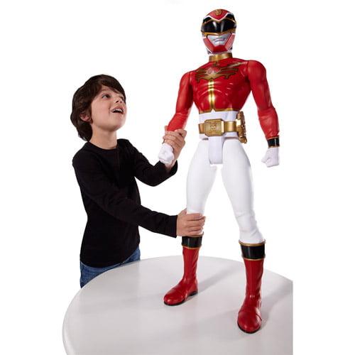 """Power Rangers Mega Force Red Ranger Giant 31"""" Action Figure"""