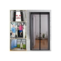 Brand New Mesh Insect Fly Bug Mosquito Door Curtain Net Netting Mesh Screen Magnets