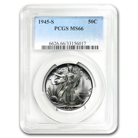 1945-S Walking Liberty Half Dollar MS-66 PCGS ()