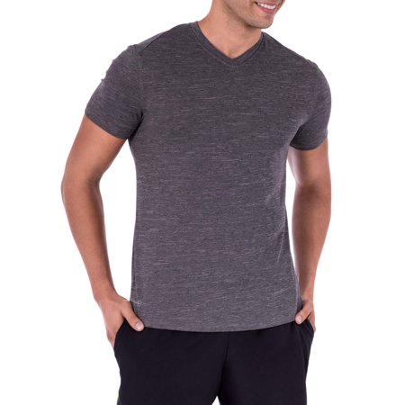 Men's Performance Activewear Short Sleeve Vneck