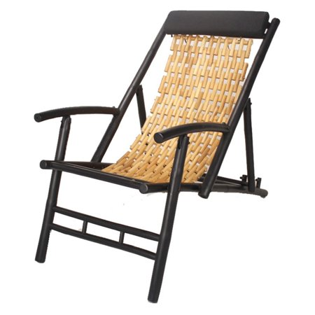 Fabulous Heather Ann Creations Hilo Bamboo Sling Folding Beach Chair Inzonedesignstudio Interior Chair Design Inzonedesignstudiocom