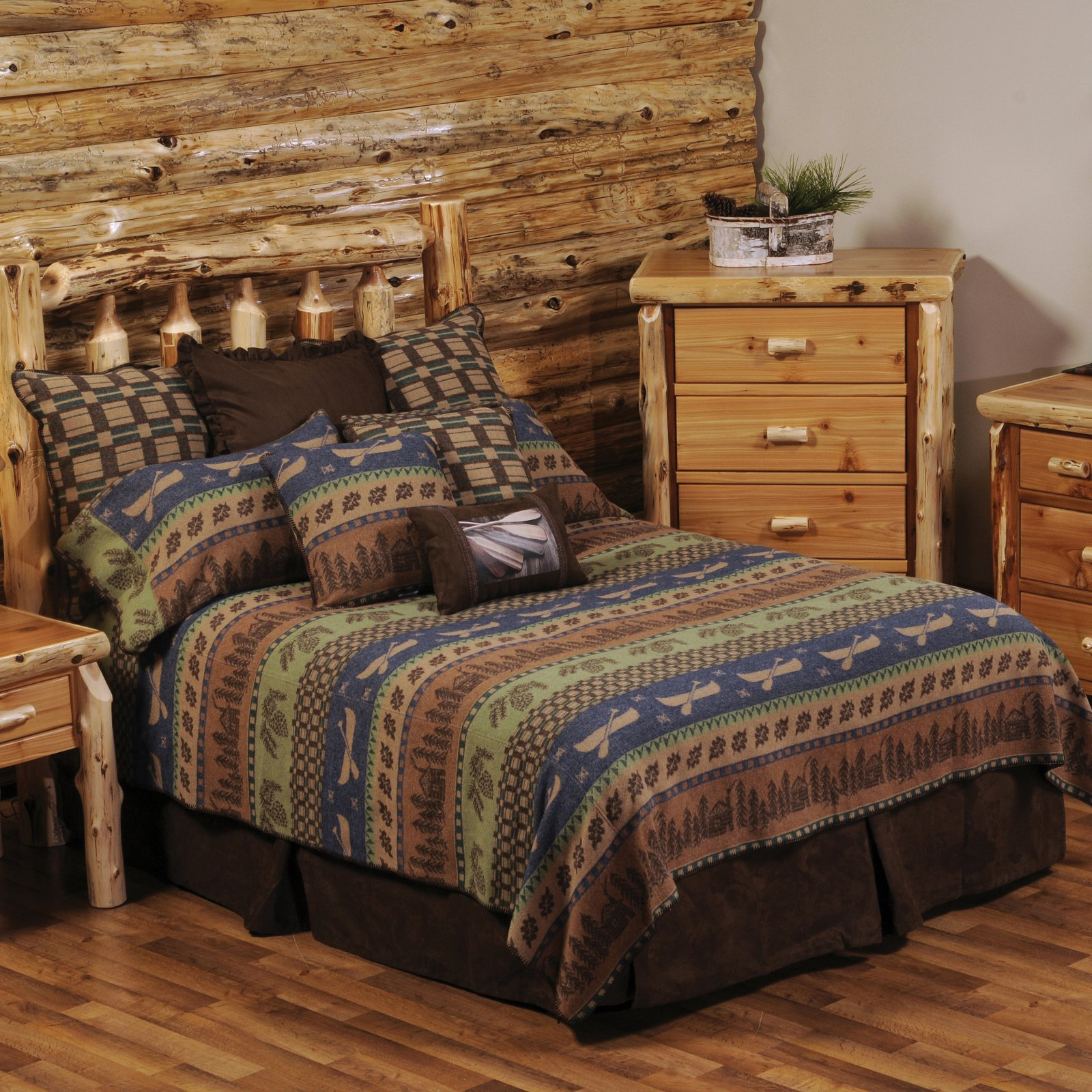 Lake Shore Bedding Set by Wooded River