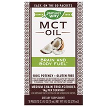 Vitamins & Supplements: Nature's Way MCT Oil Packets