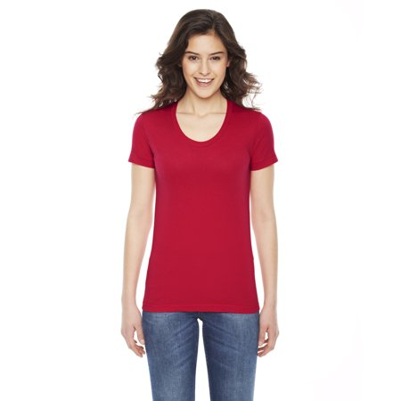 American Apparel Ladies' Poly-Cotton Short-Sleeve Crewneck - image 1 of 1