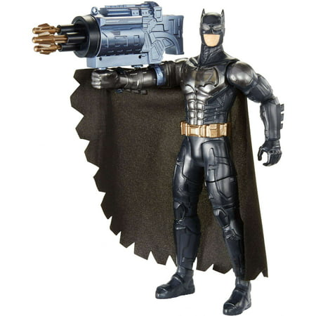DC Justice League Electro-Gauntlet Batman Figure with Lights & Sounds