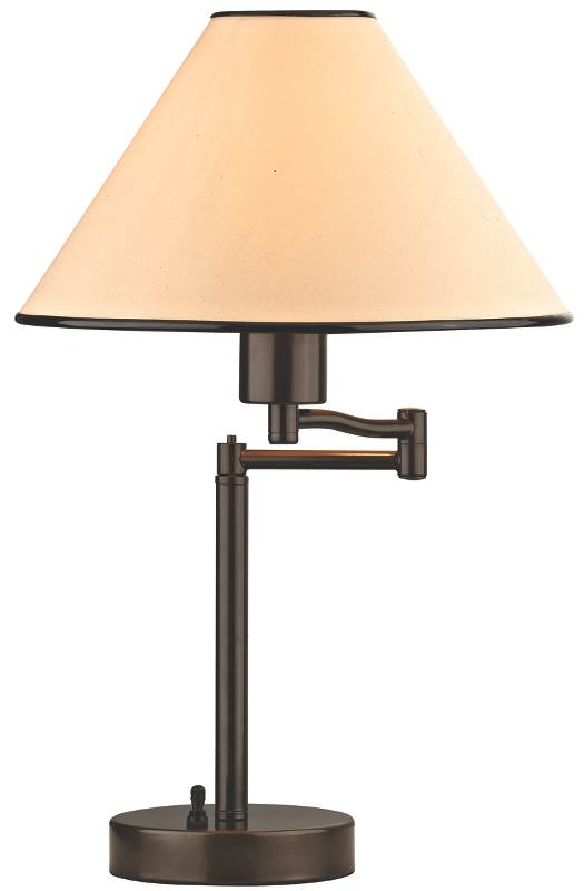 Boston Harbor TB-8008-VB Swing Arm Adjustable Desk Lamp, 60 W, A19 by Boston Harbor