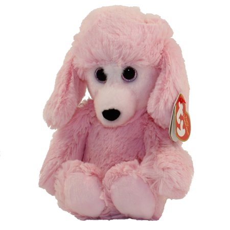 - TY Cuddlys - PRICILLA the Pink Poodle (Regular Size - 8 inch)