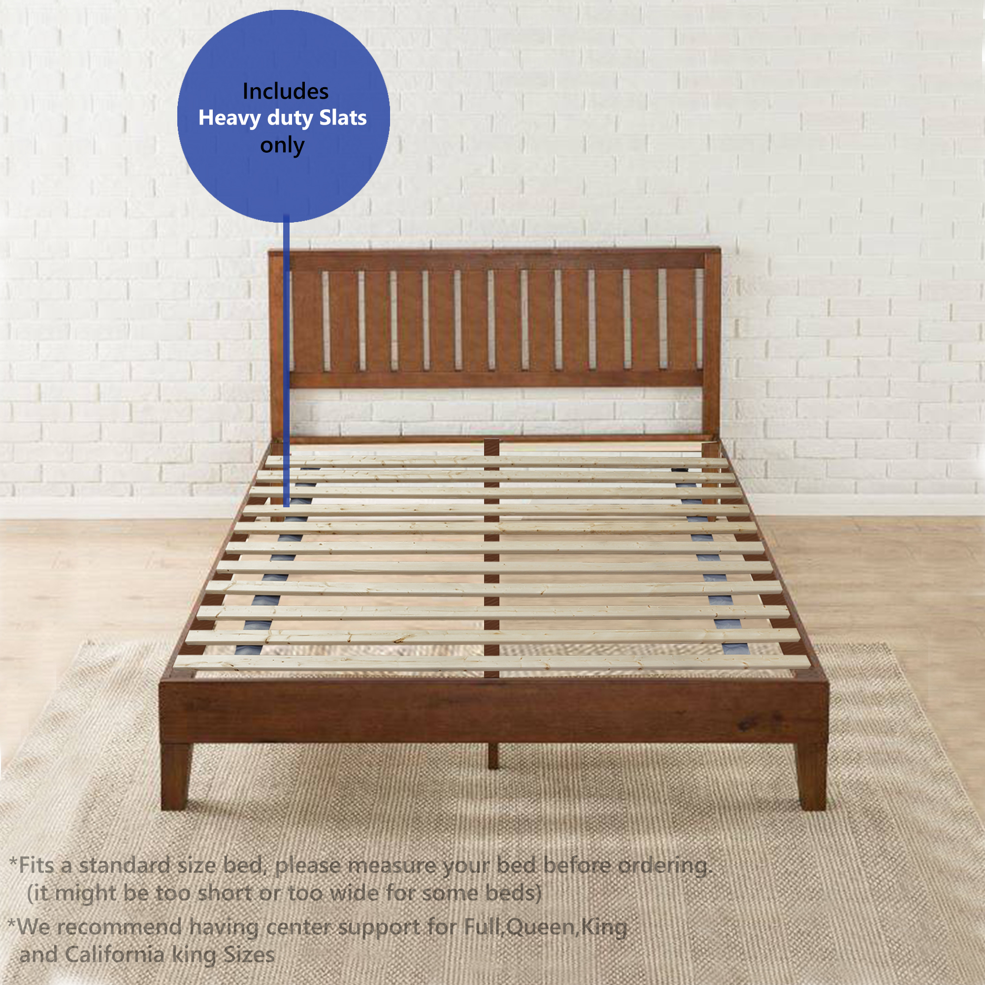Wooden Bed Slats New Replacement Bed Slats Available For All Sizes Free Delivery