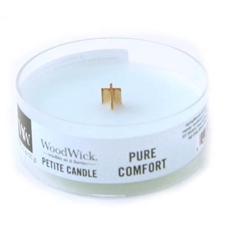 PURE COMFORT Petite WoodWick 1.1 oz Scented Candles